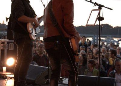 Le rock sur scène